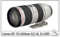 Canon EF 70-200mm f/2.8L IS II USM Zoomobjektiv